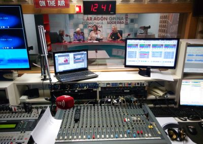 tecnico sonido zaragoza radio prensa medios